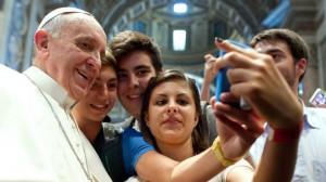 selfie-pape-franc3a7ois