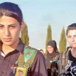 داستان پیکار یک زن جنگجوی کرد