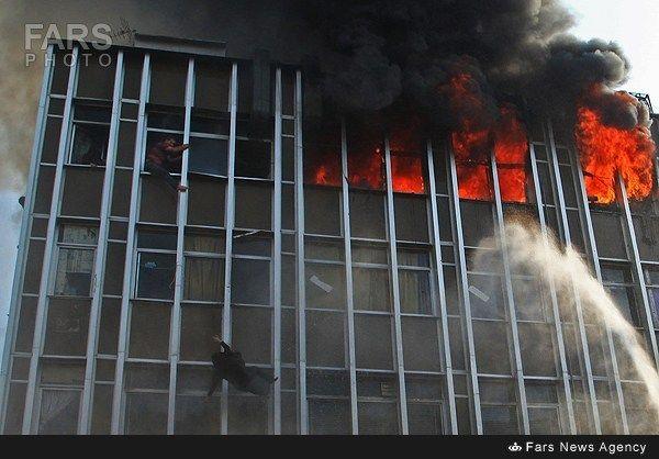 مقصر آتشسوزی جمهوری هنوز مشخص نیست