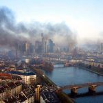 تظاهرات و درگیری در فرانکفورت