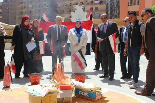 وزارت آموزش مصر کتابسوزان راه میاندازد