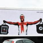 المپیک ۲۰۱۲ در لندن، آنچه روی دیوارها ماند