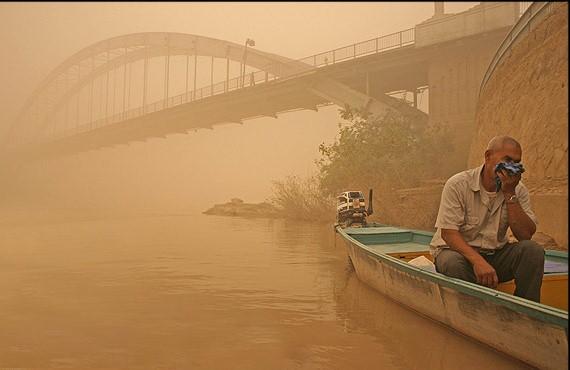 آیا گردوغبارهای عراقی آلودهاند؟