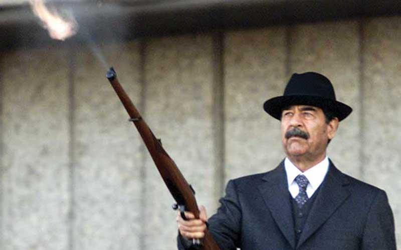 صدام چگونه سخن گفت