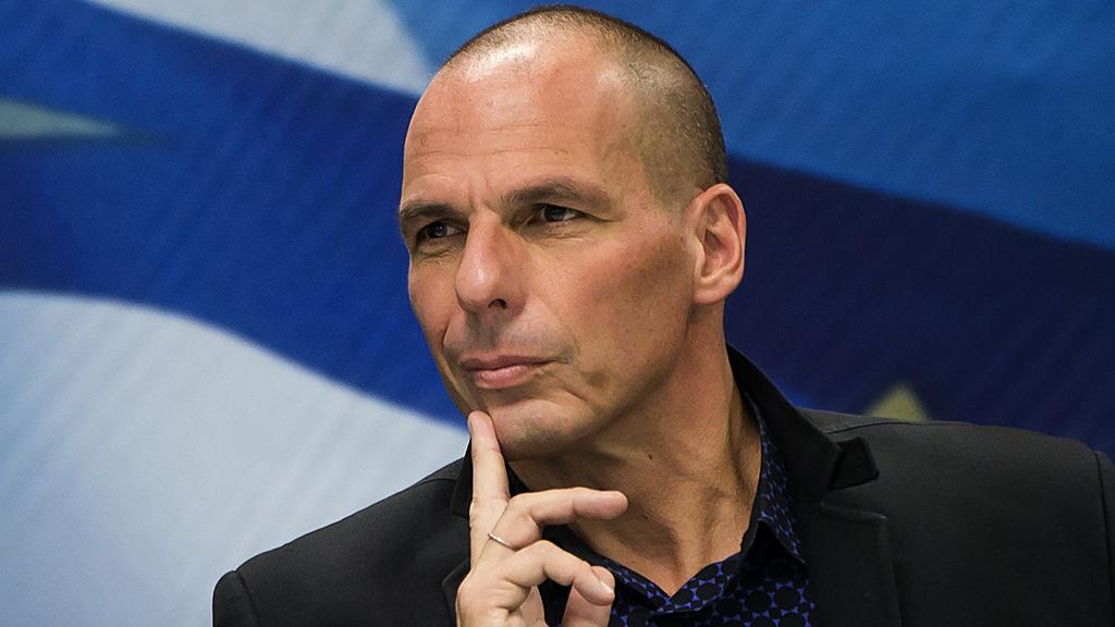 یانیس واروفاکیس، وزیر دارایی یونان