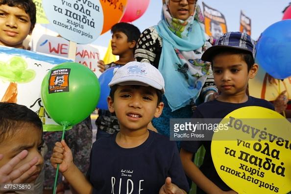 رای پارلمان یونان به اعطای تابعیت به کودکان پناهجویان