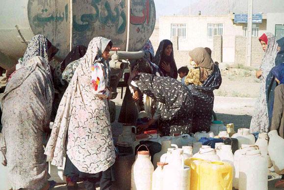 ۷ میلیون روستایی منتظر دریافت آب شرب با تانکر