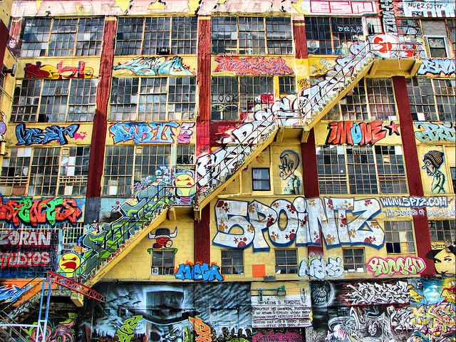 چرا شهرها در حال ویران کردن گرافیتیها هستند؟