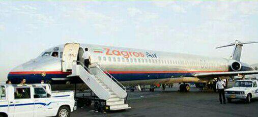 وزنکشی مسافران یک هواپیما پیش از پرواز