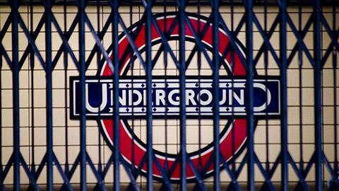 متروی لندن در اعتصاب
