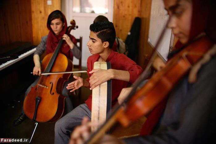 آکادمی موسیقیِ کودکان کار در کابل