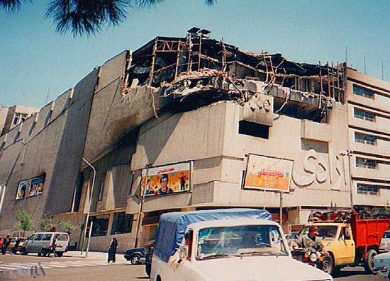 سینما آزادی در خطر آتشسوزی دوباره