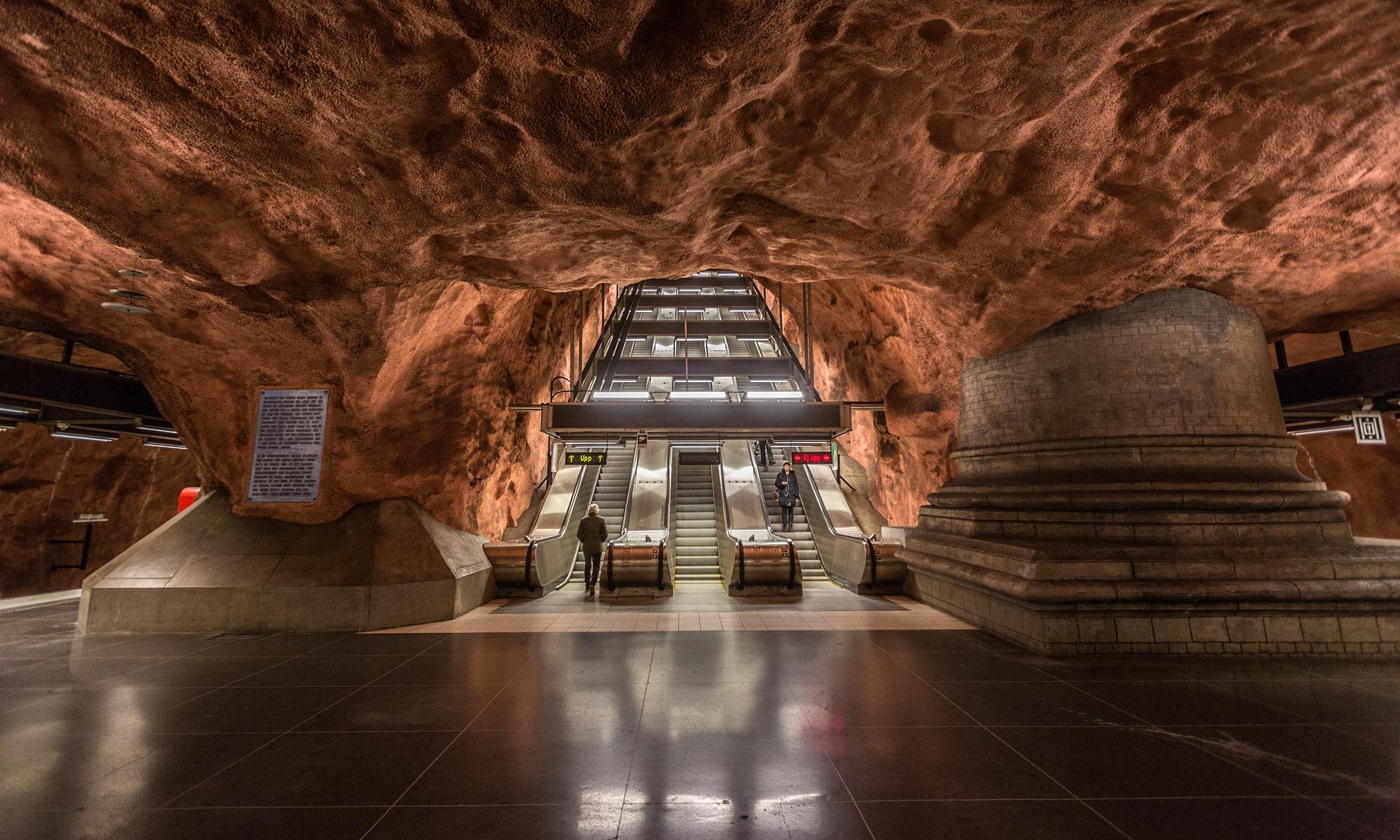 ایستگاههای متروی شهر استکهلم