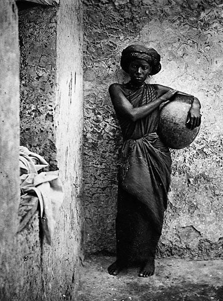 زن برده آفریقای شرقی، قرن نوزدهم