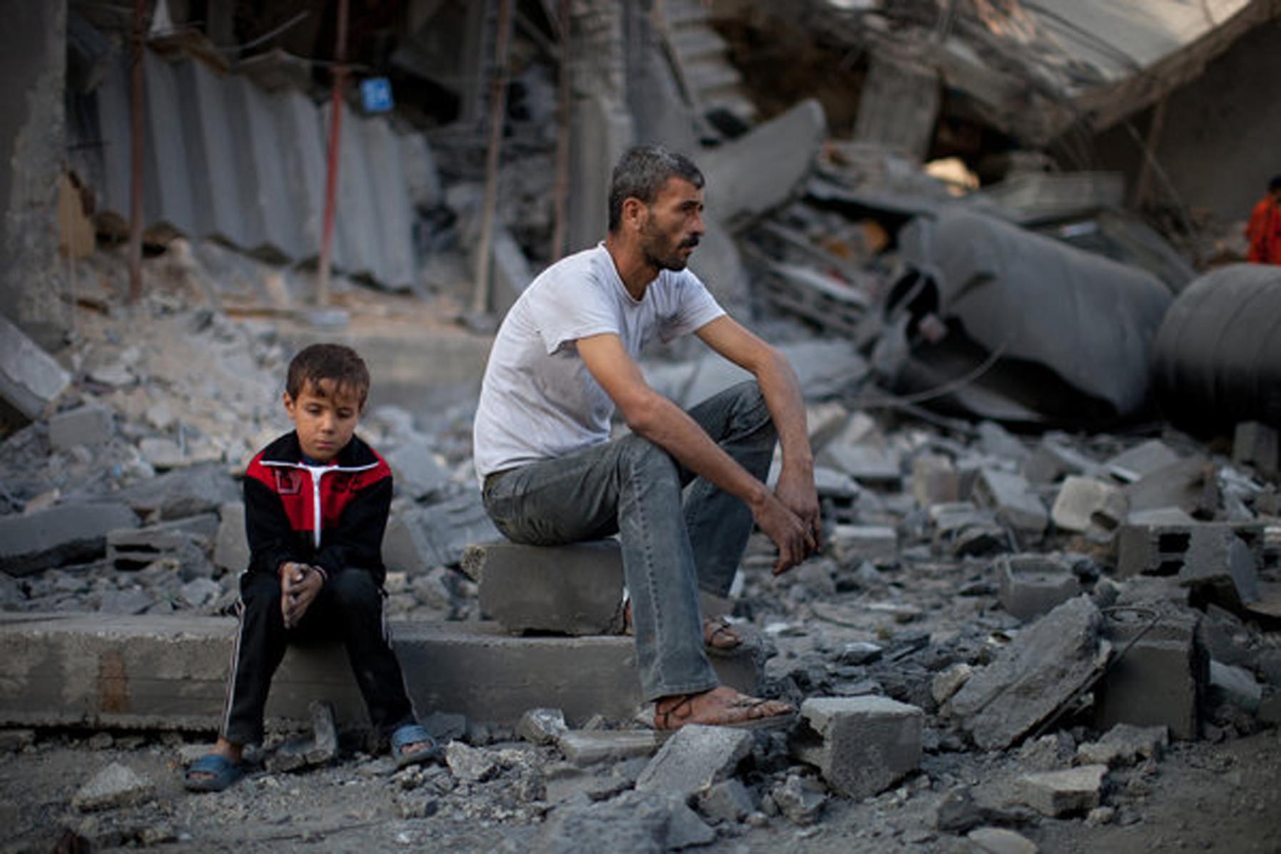 نشانههایی از افزایش آمار خودکشی در غزه