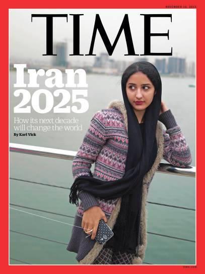 ایران ۲۰۲۵ روی جلد «تایم»