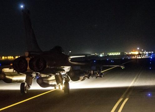 حملهی هوایی فرانسه به سوریه
