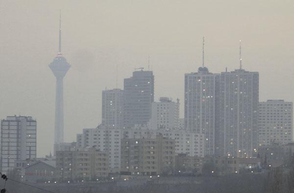 هوای تبریز، تهران و مشهد در وضعیت هشدار