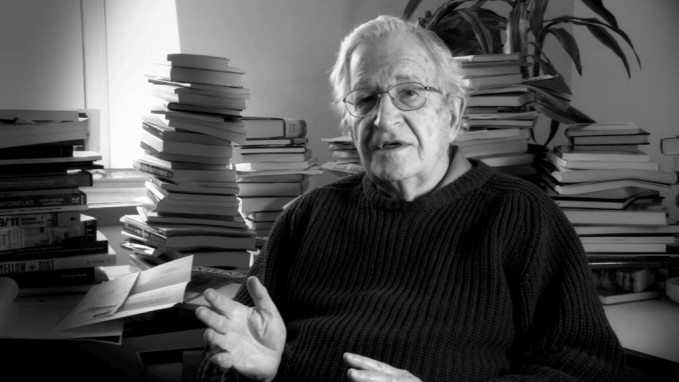 Chomsky-in-his-office