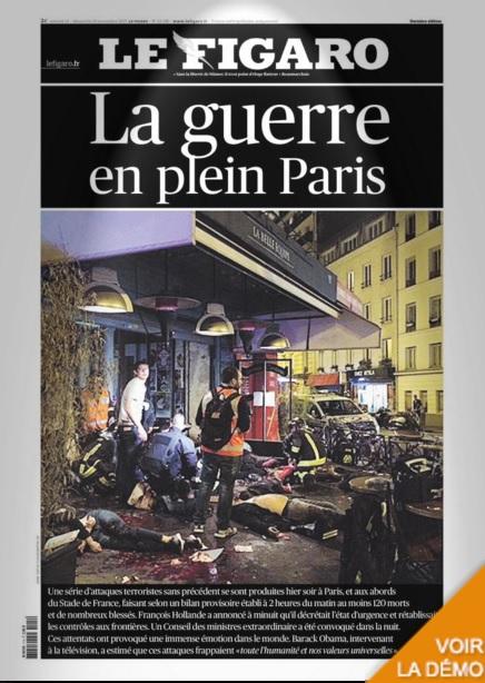 فیگارو: جنگ در پاریس