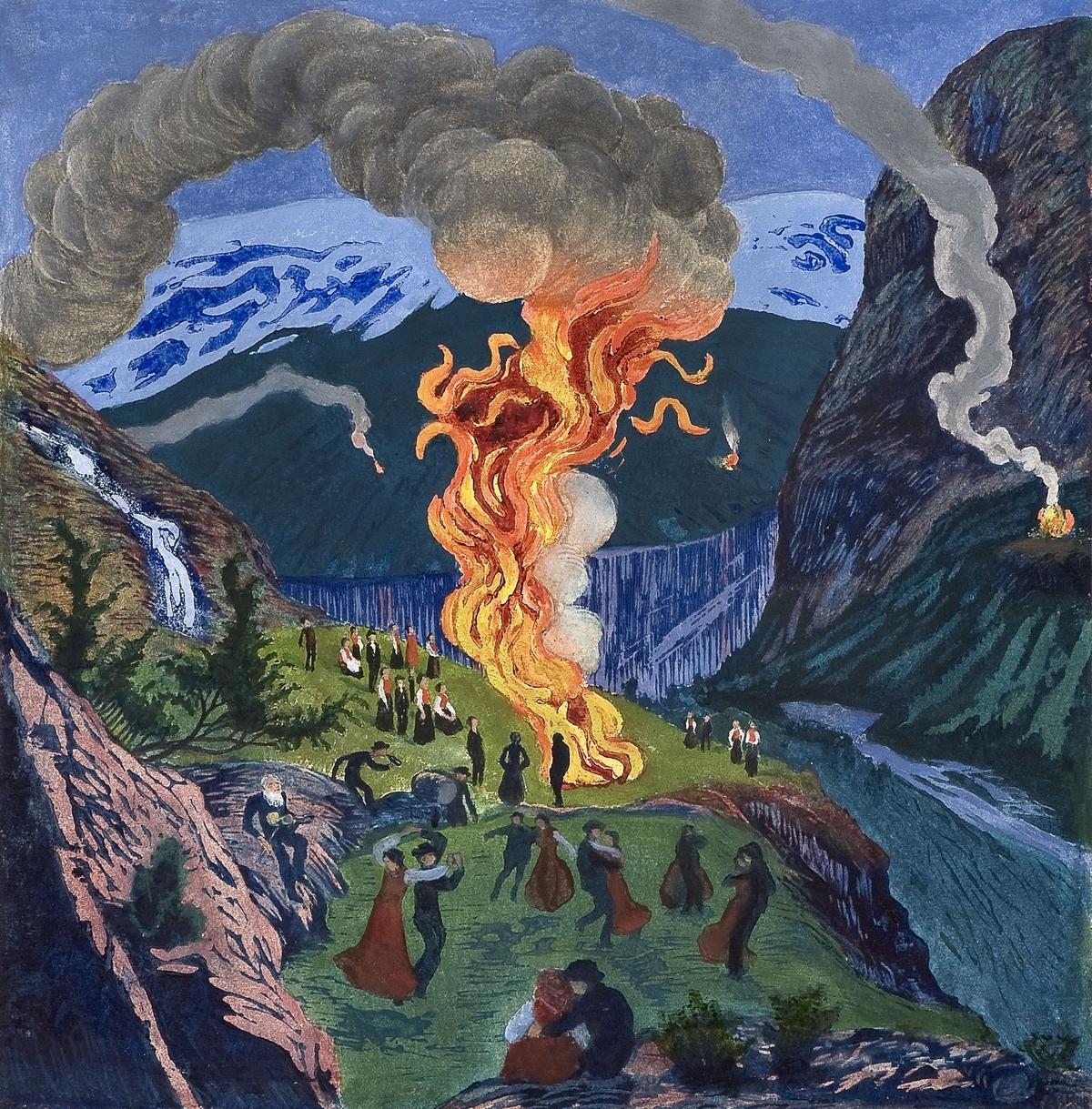نیکولا استراپ؛ نقاش فراموششده نروژی