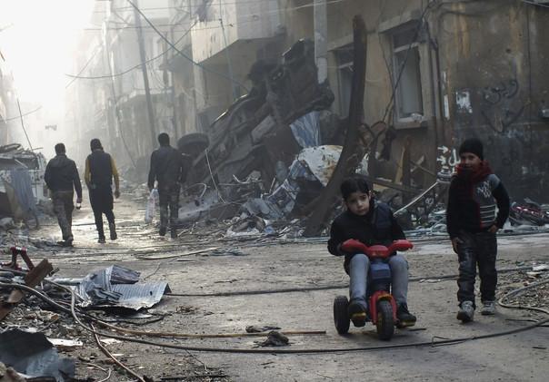 بازدید گردشگران از مناطق جنگزده سوریه با ۱۵۰۰ دلار