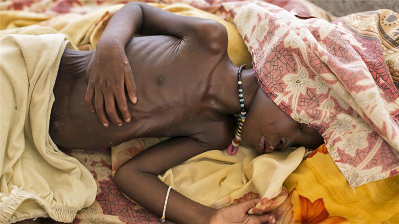 قحطی مرگبار در سودان جنوبی
