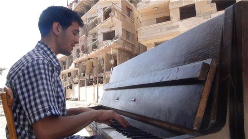 پیانیست پناهنده فلسطینی برنده جایزه موسیقی بتهوون شد