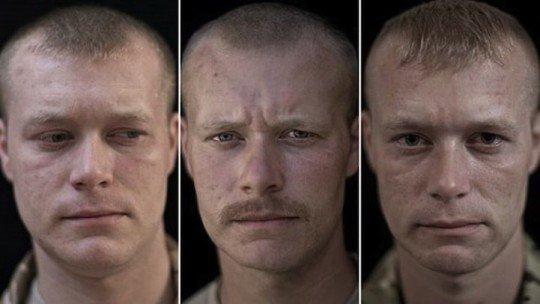 روایت تصویری «لالیج اسنو» از سربازان بریتانیایی جنگ افغانستان