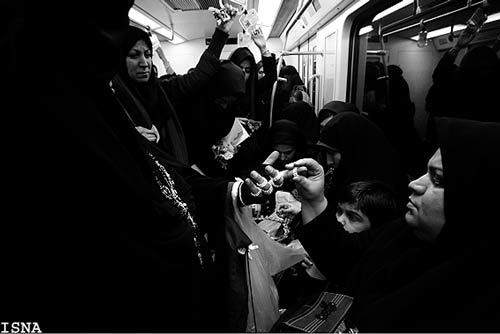 ورود پلیس به طرح ضربتی جمعآوری دستفروشان مترو