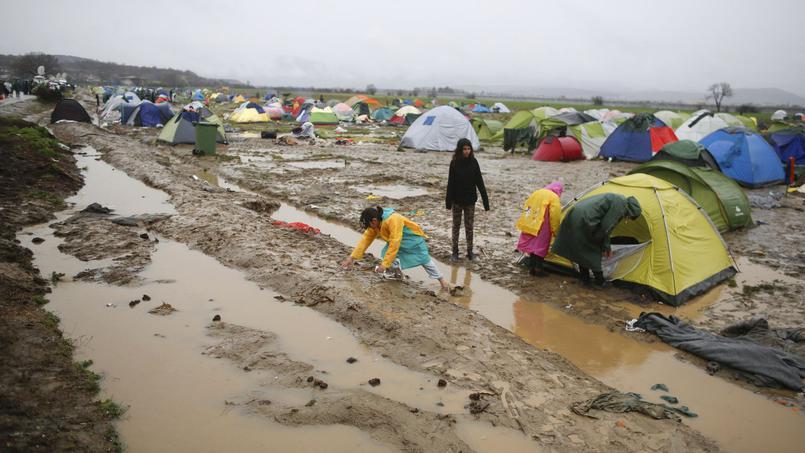 سرگردانی مهاجران در یونان