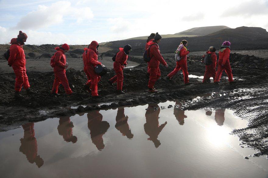 اشغال معدن بزرگ زغالسنگ در انگلستان