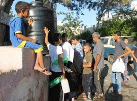قطع آب کرانه باختری از سوی اسرائیل