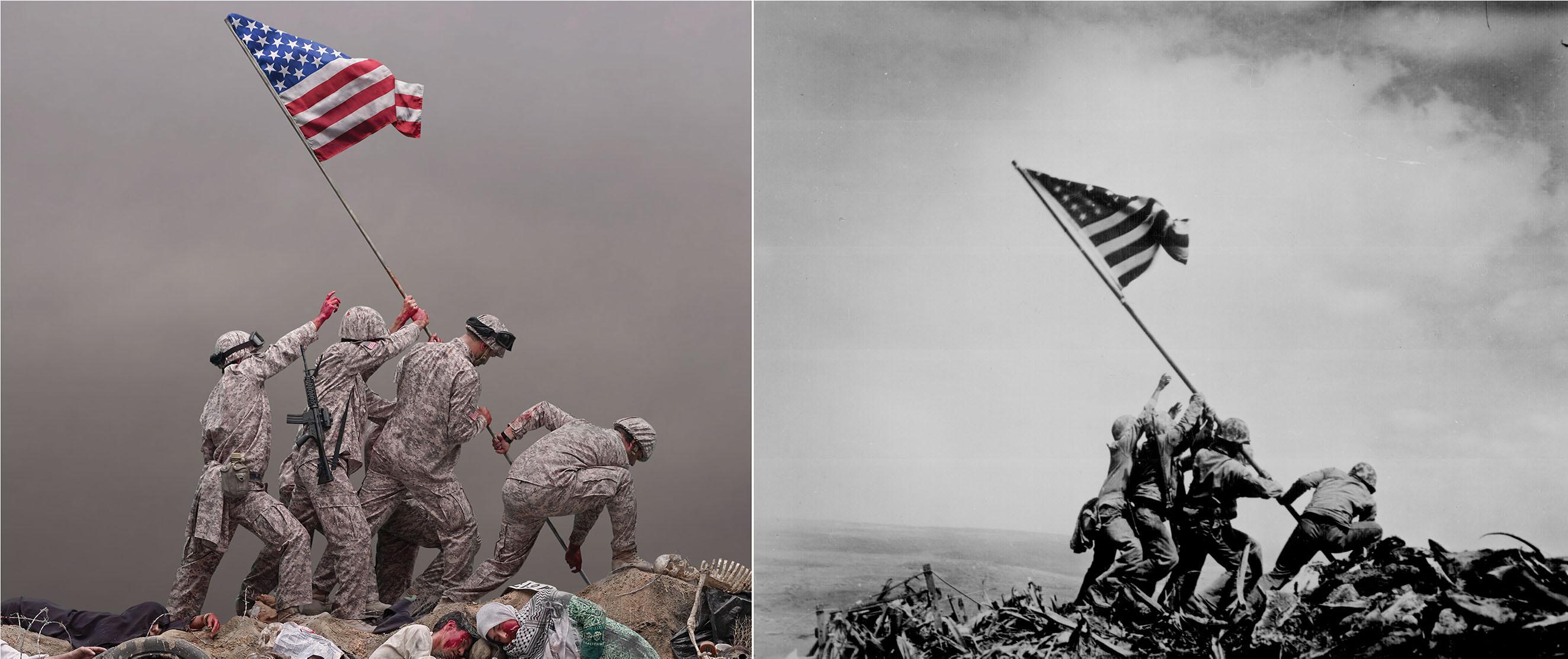 2- جو روزنتال 1945 بخشی از «داستان یک پرچم» 1394
