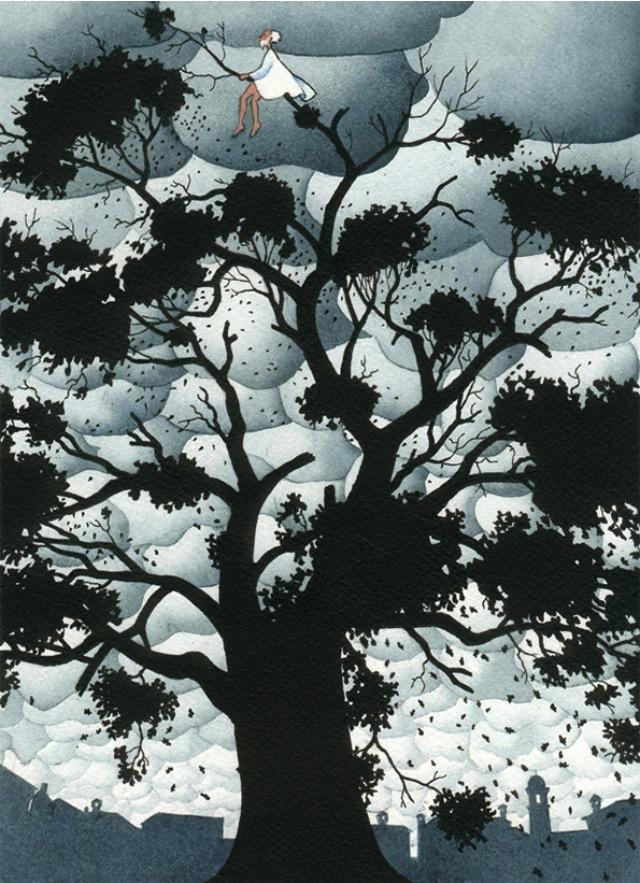 اولین وظیفه روشنفکرِ مسئول، زندگی بر شاخِ درختان است