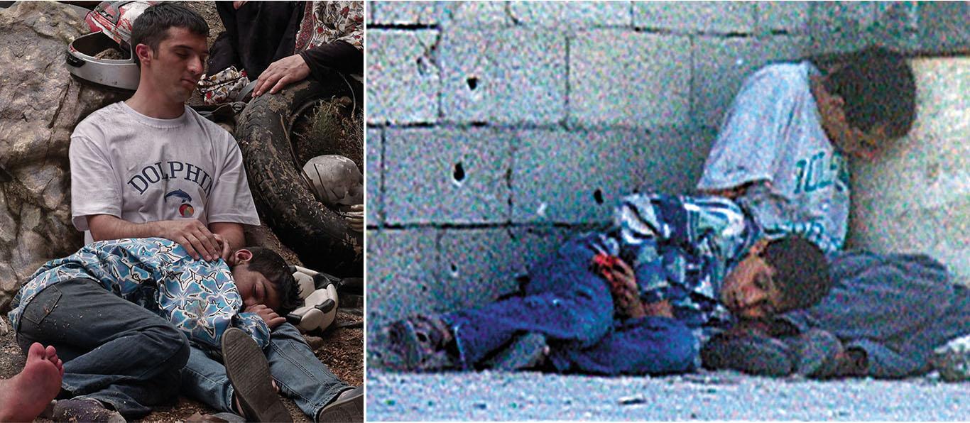 6 – طلال حسن أبو رحمه (شبکهی تلویزیونی فرانسه 2) غزه 2000 بخشی از«داستان یک پرچم» 1394
