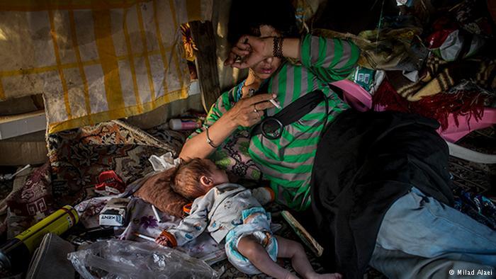 روزانه بین ٢٠ تا ٢٠٠ نوزاد معتاد در ایران متولد میشود