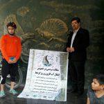 «سفیر نفس» برای مقابله با ریزگردها تا تهران رکاب زد