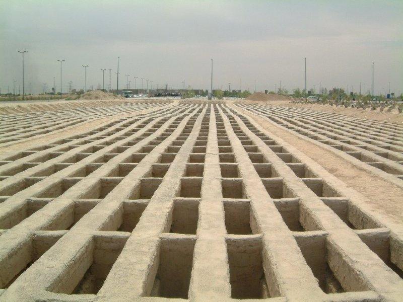 یک میلیارد و صد میلیون تومان برای دو طبقه قبر در بهشت زهرا