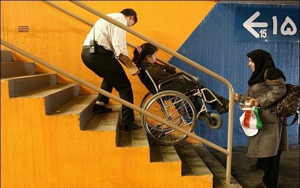 امکانات ساختمانها برای معلولان بعد از دریافت پایان کار حذف میشوند