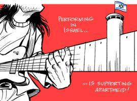 قطع همکاری «امکس» با راجر واترز به دلیل حمایت از فلسطین