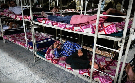 عقبماندن ظرفیت گرمخانههای تهران از آمار بیخانمانها