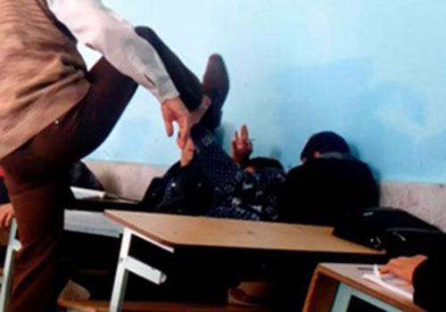 مشت معلم، دانشآموز را روانه بیمارستان کرد