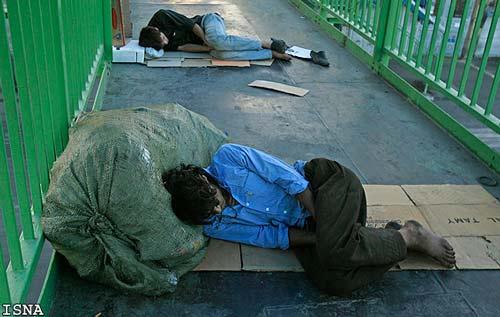 یکسوم بیخانمانها هیچ نوع اعتیادی ندارند