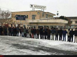 تبرئه کارگران چادرملو، تجمع در شوش و اهواز و تبریز