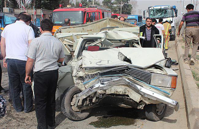 حوادث ترافیکی علت از بین رفتن یک ایرانی در هر ۳۱ دقیقه