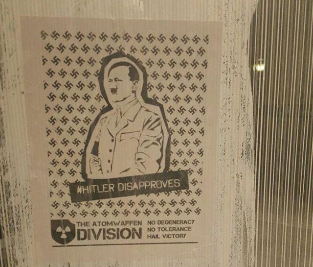 نصب پوسترهای هیتلر در برخی دانشگاههای امریکا