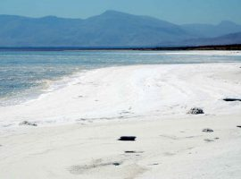 حجم آب دریاچه ارومیه ۴۱۰ میلیون متر مکعب افزایش یافت