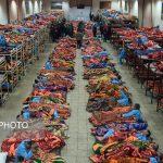 گزارش تصویری از اسکان بیخانمانها در گرمخانه