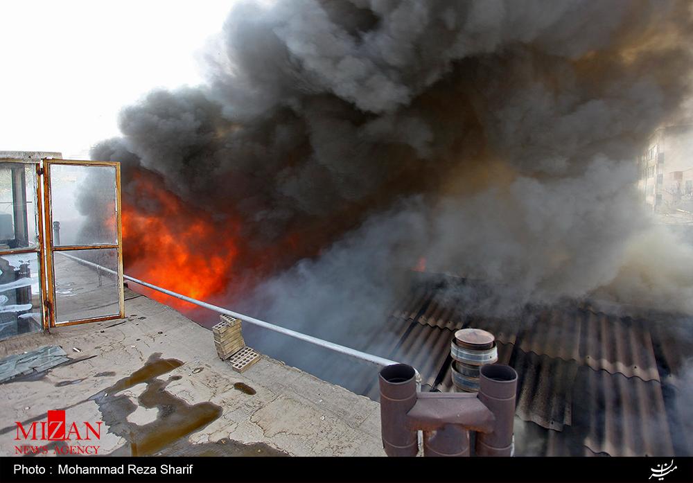 مرگ دو کودک کار در آتشسوزی گاراژ جمعآوری ضایعات